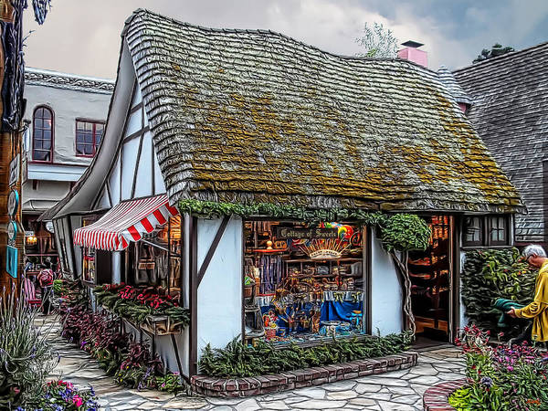 Photograph - The Cottage Of Sweets - Carmel by Glenn McCarthy