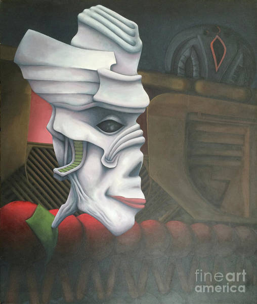 Wall Art - Painting - The Count by Kevin J Graham