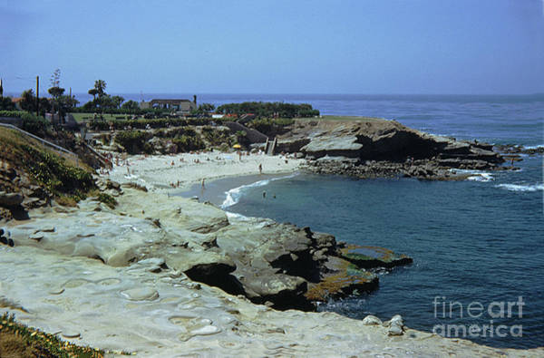 Photograph - The Cove At La Jolla Circa 1950 by California Views Archives Mr Pat Hathaway Archives