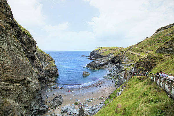 Cornwall Photograph - The Cove by Martin Newman