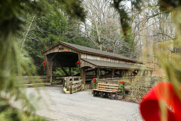 Wall Art - Photograph - The Covered Bridge by Jimmy Taaffe