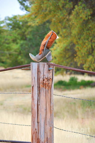 Photograph - The Cowboy Boot by Donna Greene