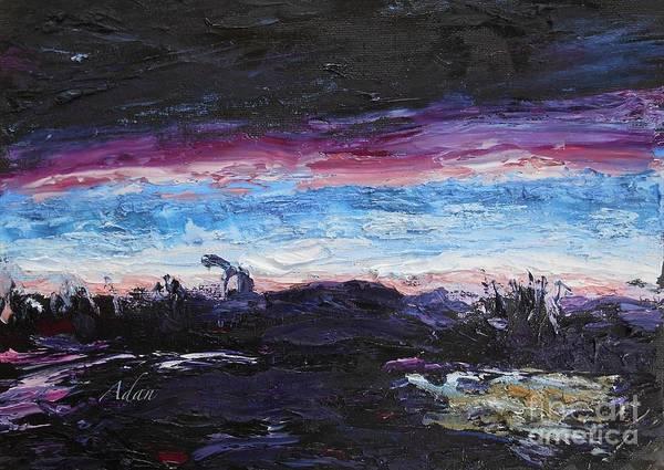 Primal Painting - The Crack Of Time by Felipe Adan Lerma