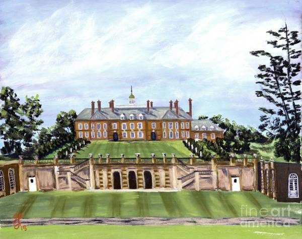 Painting - The Crane Castle by Francois Lamothe