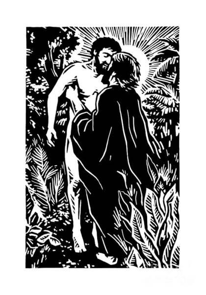 Painting - The Creation Of Adam - Jltca by Julie Lonneman