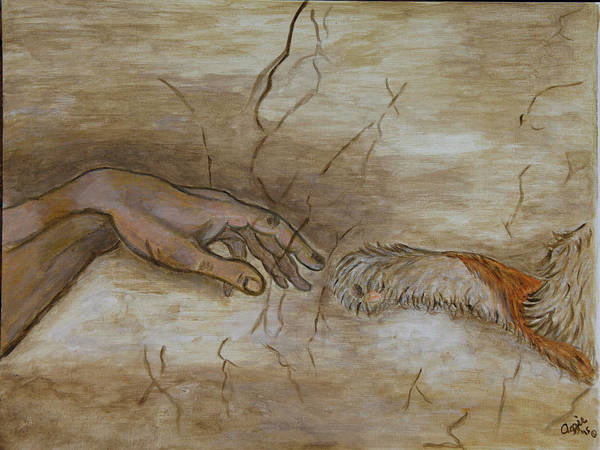 Painting - The Creation Of Humanity by Stephanie Agliano