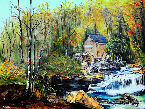Painting - Glade Creek by Farzali Babekhan