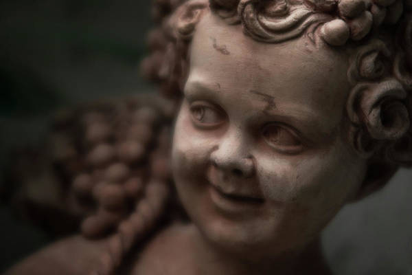 The Creepy Statue Art Print