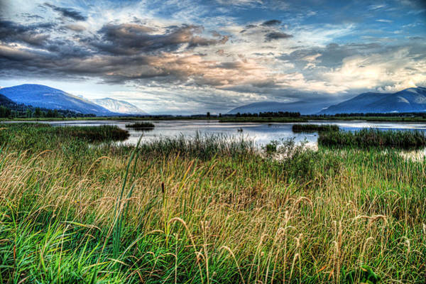 Photograph - The Creston Valley by Lawrence Christopher