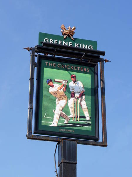 Photograph - The Cricketers by Richard Reeve
