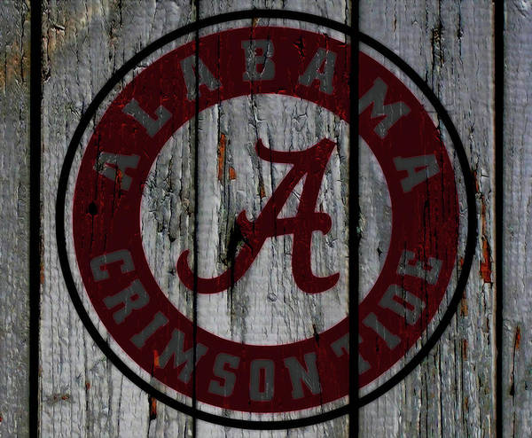 Wall Art - Mixed Media - The Crimson Tide 01w by Brian Reaves