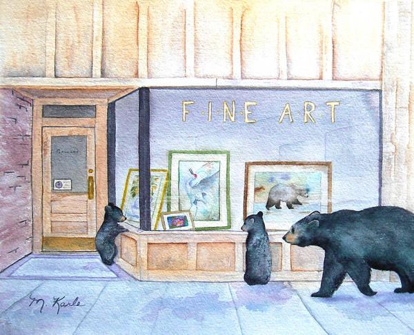 Painting - The Critics by Marsha Karle