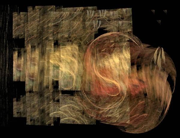 Wall Art - Digital Art - The Crooked Road by NirvanaBlues