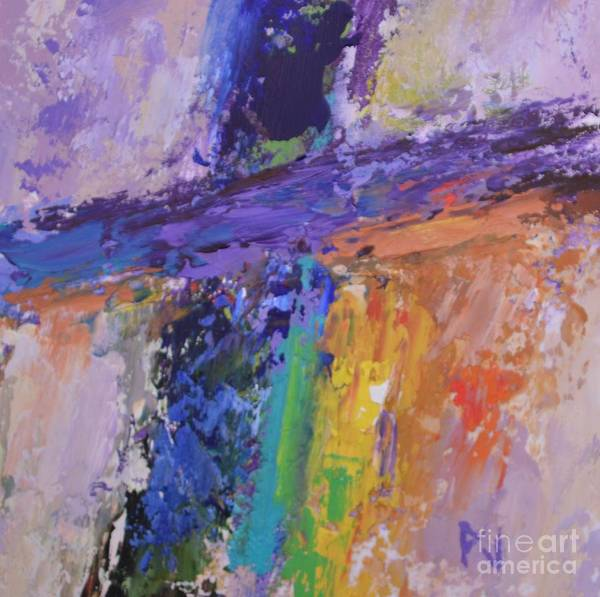 Pray For Love Wall Art - Painting - The Cross And The Glory by Philip Jones