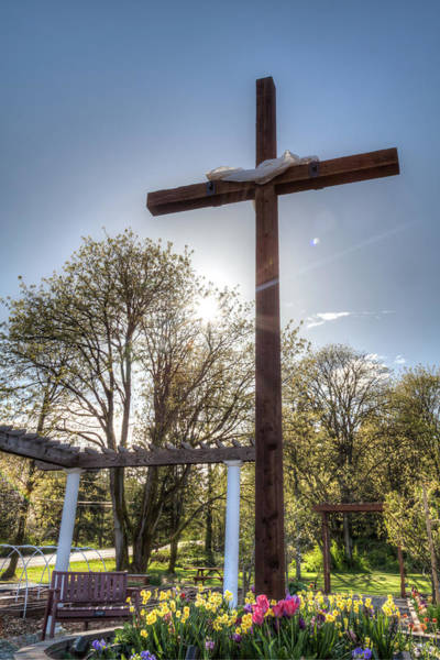 Salvation Wall Art - Photograph - The Cross by Jerry Renville