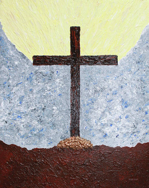Painting - The  Cross  Of  Jesus by Carl Deaville