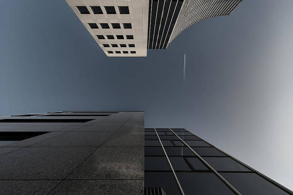Lines Photograph - The Cross Over by Gerard Jonkman