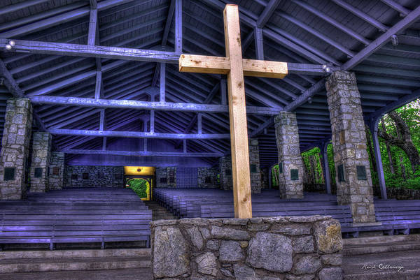 Photograph - The Cross Pretty Place Chapel Art by Reid Callaway