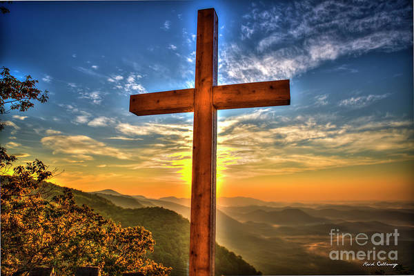 Photograph - The Cross The Choice Pretty Place Chapel Greenville South Carolina Art by Reid Callaway