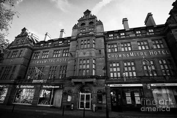 Wall Art - Photograph - The Crown And Mitre Hotel Carlisle Cumbria England Uk by Joe Fox