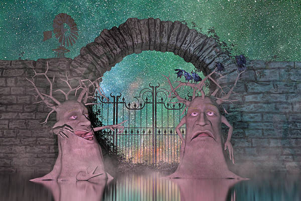 Daz Wall Art - Digital Art - The Crow's Nest by Betsy Knapp