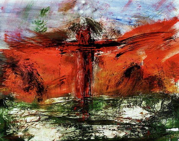 The Crucifixion #1 Art Print