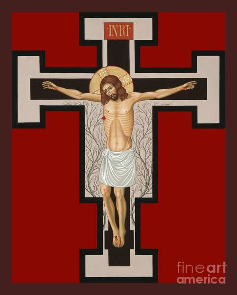 Painting - The Crucified Lord 017 by William Hart McNichols