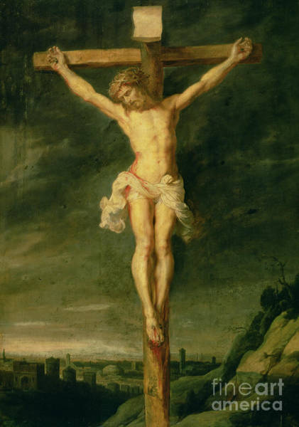Wall Art - Painting - The Crucifixion by Rubens
