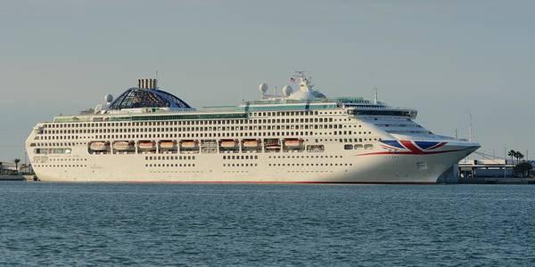 Photograph - The Cruise Ship Oceana by Bradford Martin