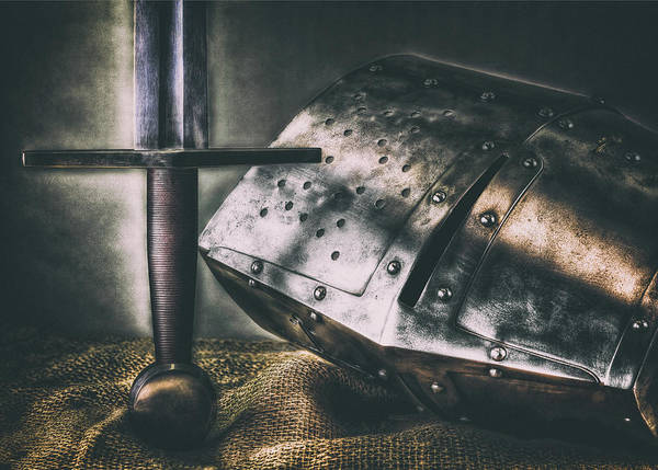 Wall Art - Photograph - The Crusader_antique by Hans Zimmer