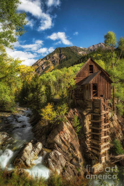 Photograph - The Crystal Mill by Bitter Buffalo Photography