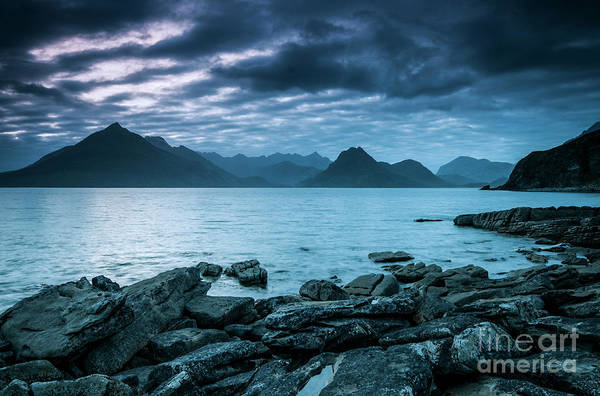 Photograph - The Cuillin And The Calm by David Lichtneker