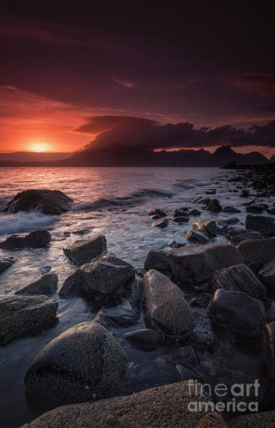Photograph - The Cuillin From Elgol II by David Lichtneker