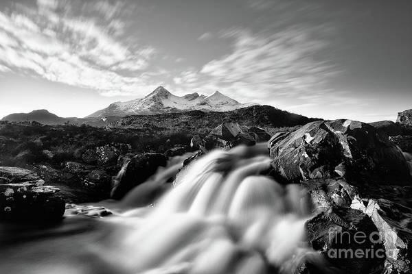 Scottish Highlands Photograph - The Cuillin by John Farnan