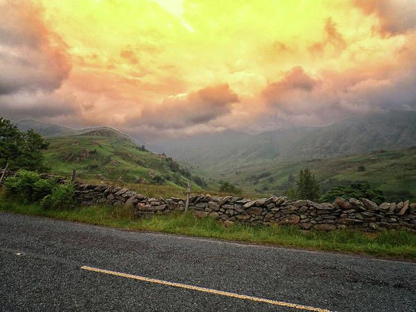 Lake District Wall Art - Photograph - The Cumbrian Hills by Martin Newman