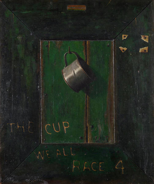 The Horseshoe Wall Art - Painting - The Cup We All Race 4 by John Frederick Peto