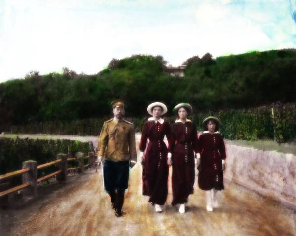 Photograph - The Czar And Daughters by John Feiser