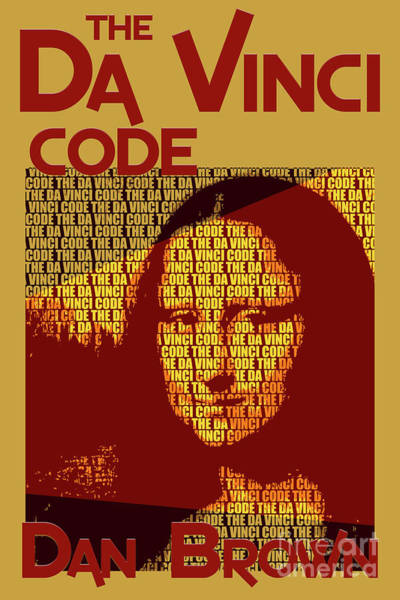 Suspense Digital Art - The Da Vinci Code By Dan Brown Movie Poster Book Cover Art 1 by Nishanth Gopinathan