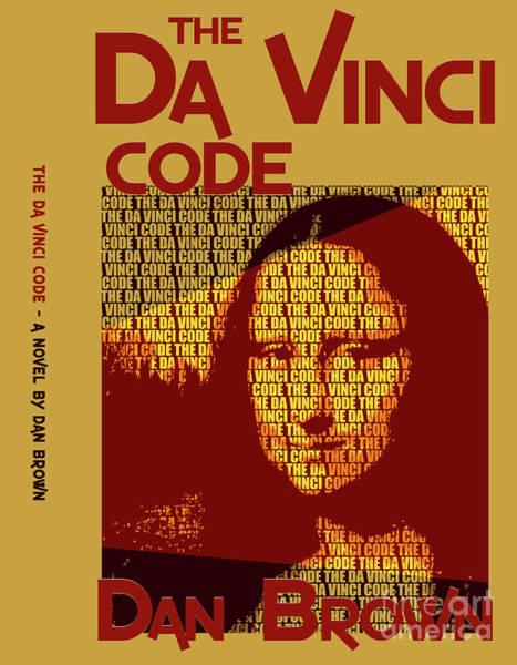 Suspense Digital Art - The Da Vinci Code By Dan Brown Movie Poster Book Cover Art 2 by Nishanth Gopinathan