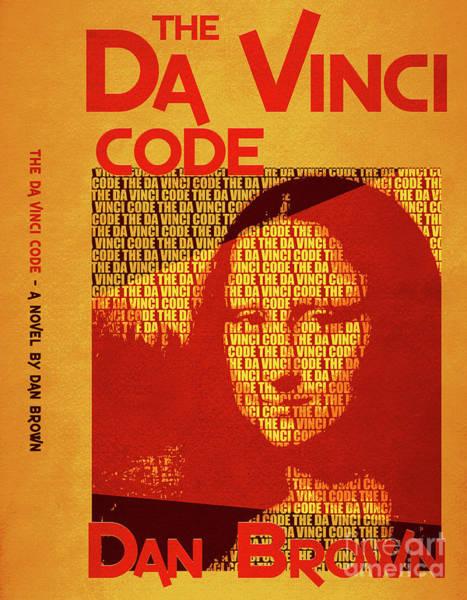 Suspense Digital Art - The Da Vinci Code By Dan Brown Movie Poster Book Cover Art 4 by Nishanth Gopinathan