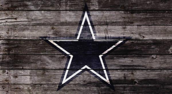 Wall Art - Mixed Media - The Dallas Cowboys 4w by Brian Reaves