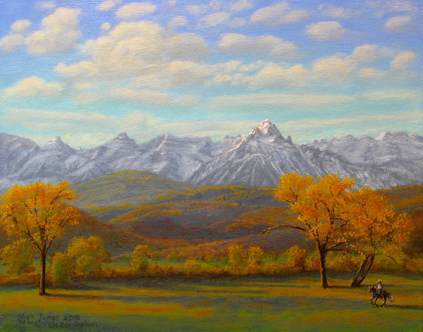 Wall Art - Painting - The Dallas Divide by Mark Junge