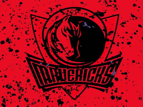 Mavericks Mixed Media - The Dallas Mavericks 2b by Brian Reaves