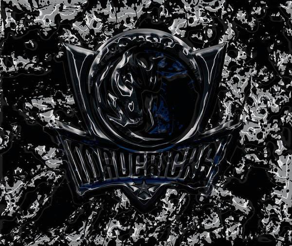 Mavericks Mixed Media - The Dallas Mavericks 2e by Brian Reaves