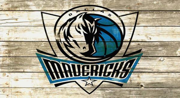 Mavericks Mixed Media - The Dallas Mavericks 5c by Brian Reaves