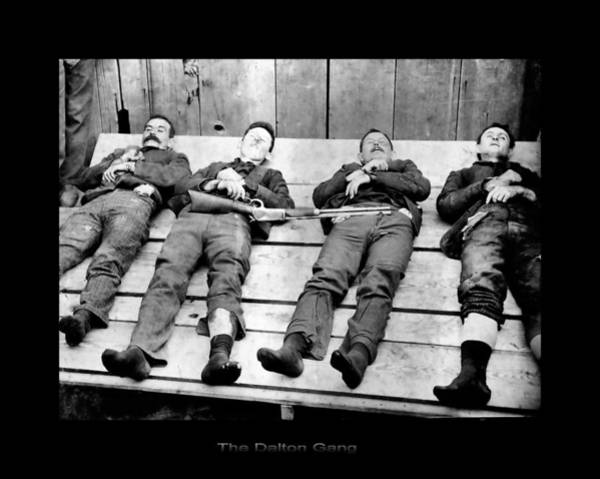 Photograph - The Dalton Gang by John Feiser