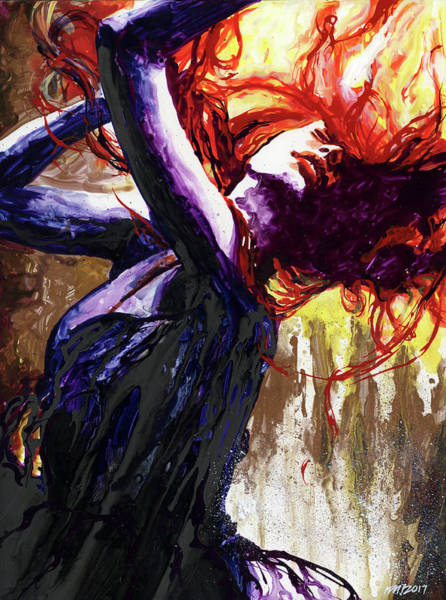 Wall Art - Painting - The Dance by Ken Meyer