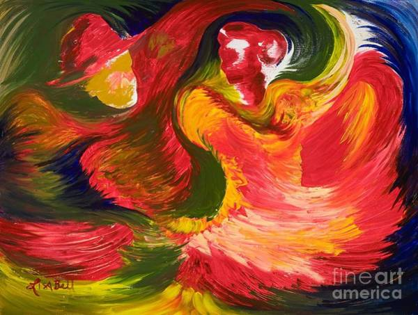 Wall Art - Painting - The Dance by Lisa Bell