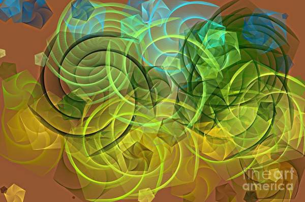 Digital Art - The Dance by Mary Machare