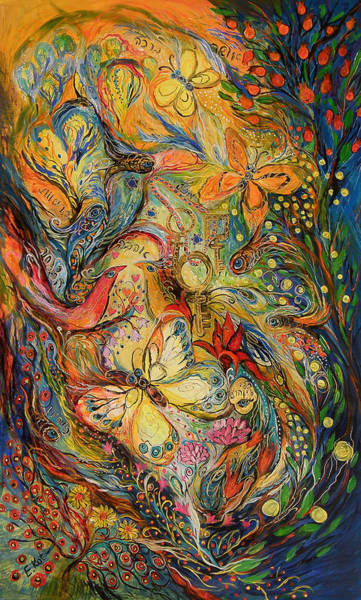 Wall Art - Painting - The Dance Of Nature by Elena Kotliarker